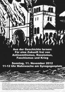 Pogromnacht 2012